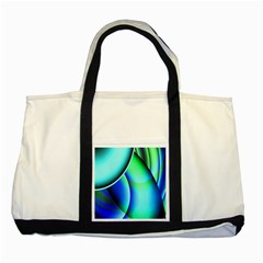 New 2 Two Tone Tote Bag by timelessartoncanvas