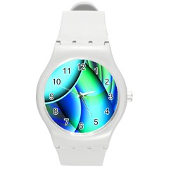 New 2 Round Plastic Sport Watch (m) by timelessartoncanvas