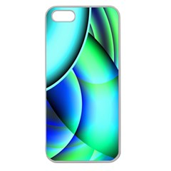New 2 Apple Seamless Iphone 5 Case (clear) by timelessartoncanvas