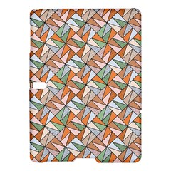 Allover Graphic Brown Samsung Galaxy Tab S (10 5 ) Hardshell Case  by MoreColorsinLife