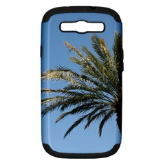 Tropical Palm Tree  Samsung Galaxy S Iii Hardshell Case (pc+silicone) by BrightVibesDesign