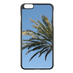 Tropical Palm Tree  Apple Iphone 6 Plus/6s Plus Black Enamel Case by BrightVibesDesign