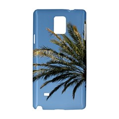 Tropical Palm Tree  Samsung Galaxy Note 4 Hardshell Case by BrightVibesDesign
