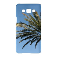 Tropical Palm Tree  Samsung Galaxy A5 Hardshell Case  by BrightVibesDesign