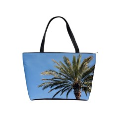Tropical Palm Tree  Shoulder Handbags by BrightVibesDesign