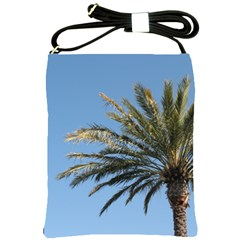 Tropical Palm Tree  Shoulder Sling Bags by BrightVibesDesign
