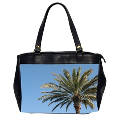 Tropical Palm Tree  Office Handbags (2 Sides)  by BrightVibesDesign