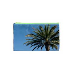 Tropical Palm Tree  Cosmetic Bag (xs) by BrightVibesDesign