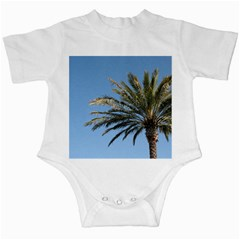 Tropical Palm Tree  Infant Creepers by BrightVibesDesign