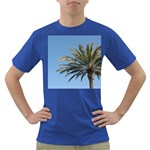 Tropical Palm Tree  Dark T-Shirt Front
