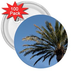 Tropical Palm Tree  3  Buttons (100 Pack)  by BrightVibesDesign