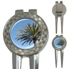Tropical Palm Tree  3-in-1 Golf Divots by BrightVibesDesign