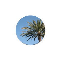 Tropical Palm Tree  Golf Ball Marker by BrightVibesDesign