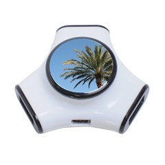 Tropical Palm Tree  3 Port Usb Hub by BrightVibesDesign