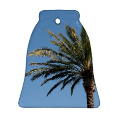 Tropical Palm Tree  Bell Ornament (2 Sides) by BrightVibesDesign