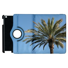 Tropical Palm Tree  Apple Ipad 2 Flip 360 Case by BrightVibesDesign