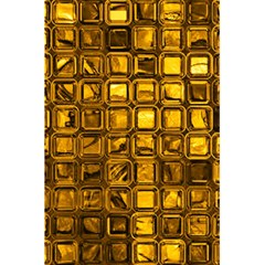 Glossy Tiles, Golden 5 5  X 8 5  Notebooks by MoreColorsinLife