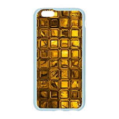 Glossy Tiles, Golden Apple Seamless iPhone 6/6S Case (Color) by MoreColorsinLife