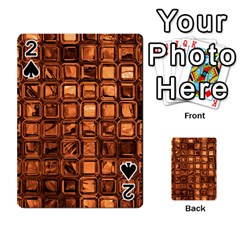 Glossy Tiles, Terra Playing Cards 54 Designs