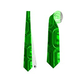 Glossy Tiles,green Neckties (two Side)