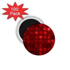 Glossy Tiles,red 1 75  Magnets (100 Pack)  by MoreColorsinLife