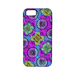 Collage Ornate Geometric Pattern Apple Iphone 5 Classic Hardshell Case (pc+silicone) by dflcprints