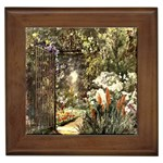 Gated Garden Framed Tile