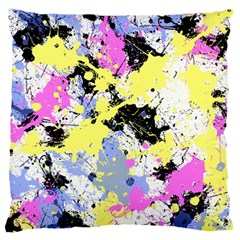 Abstract Large Cushion Case (two Sides) by Uniqued