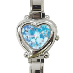 Abstract #2 Heart Italian Charm Watch by Uniqued