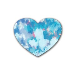 Abstract #2 Heart Coaster (4 pack)  by Uniqued