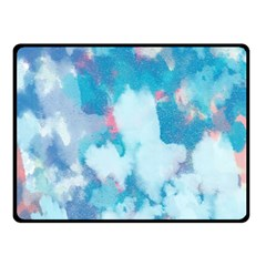 Abstract #2 Double Sided Fleece Blanket (small)  by Uniqued