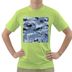 Abstract #3 Green T Shirt by Uniqued