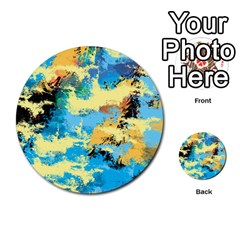 Abstract #4 Multi Purpose Cards (round)  by Uniqued