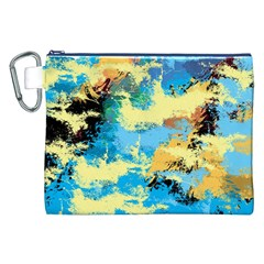 Abstract #4 Canvas Cosmetic Bag (xxl)  by Uniqued