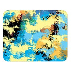 Abstract #4 Double Sided Flano Blanket (Large)  by Uniqued