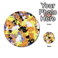 Abstract #9 Multi Purpose Cards (round)