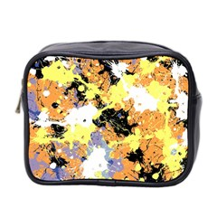Abstract #10 Mini Toiletries Bag 2 Side by Uniqued