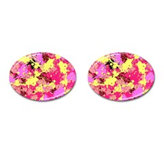 Abstract #11 Cufflinks (oval) by Uniqued