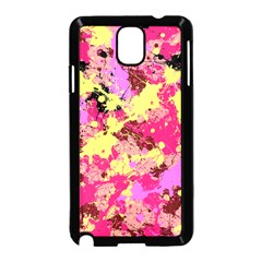 Abstract #11 Samsung Galaxy Note 3 Neo Hardshell Case (black) by Uniqued