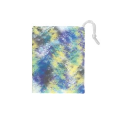 Abstract #17 Drawstring Pouches (small)  by Uniqued