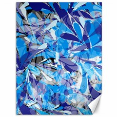 Abstract Floral Canvas 36  X 48   by Uniqued
