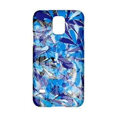 Abstract Floral Samsung Galaxy S5 Hardshell Case  by Uniqued