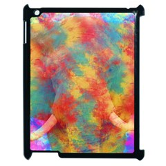 Abstract Elephant Apple Ipad 2 Case (black) by Uniqued