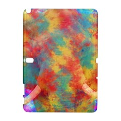 Abstract Elephant Samsung Galaxy Note 10 1 (p600) Hardshell Case