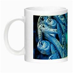 Medusa Metamorphosis Night Luminous Mugs by icarusismartdesigns