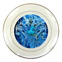 Medusa Metamorphosis Porcelain Plates by icarusismartdesigns