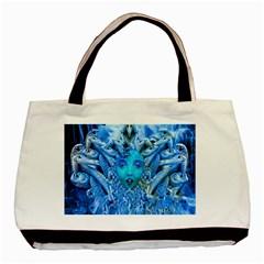 Medusa Metamorphosis Basic Tote Bag by icarusismartdesigns