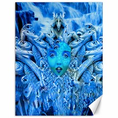 Medusa Metamorphosis Canvas 12  X 16   by icarusismartdesigns