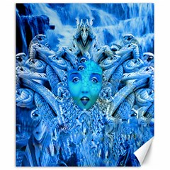 Medusa Metamorphosis Canvas 20  X 24   by icarusismartdesigns