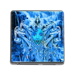 Medusa Metamorphosis Memory Card Reader (square) by icarusismartdesigns